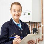 Service commercial boiler